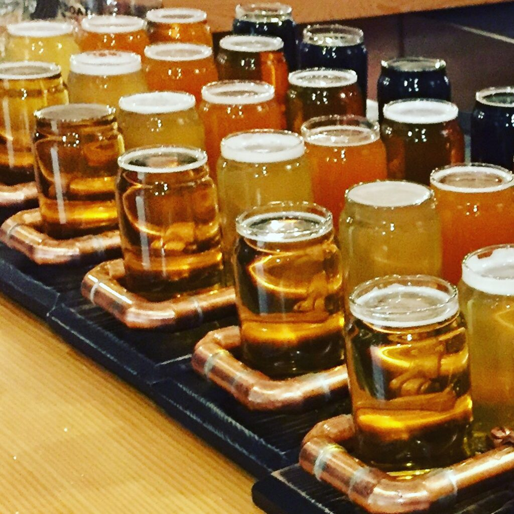 Wine and craft beer tour